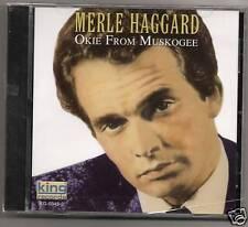 Okie From Muskogee - Haggard, Merle (CD) NEW SEALED