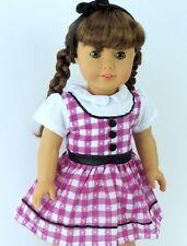 "Lovvbugg 1950's School Dress for 18"" American Girl Doll Clothes Maryellen  Cute!"