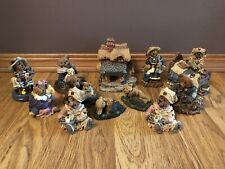 Boyds Bears & Friends figurines. Lot Of 12 (93-05) Ltd. Editions-all Numbered