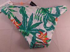 MINKPINK Swimwear Panama Palms Reversible Bikini Bottom Sz XS NEW