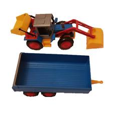 GRIP Original Spielzeugware Kinder DDR Bagger mit Hänger