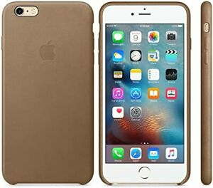 Genuine APPLE iPhone 6 Plus / 6s Plus Leather Back Case || Brown MKX92ZM/A