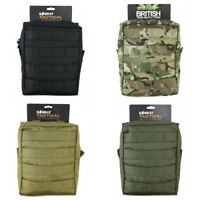 LARGE CORDURA MOLLE UTILITY TACTICAL POUCH MILITARY AIRSOFT SURVIVAL KIT EDC