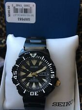 SEIKO Black S/S Band MEN SRP583K1 PROSPEX Automatic Divers Watch 100% Brand New