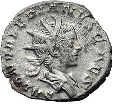 SALONINUS son of GALLIENUS 258AD Cologne Ancient Silver Roman Coin Rare i65334