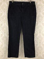 J Brand Women Jeans Dark Wash Straight Denim Stretch Clean Rins Size 31