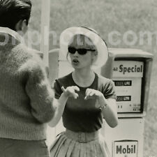 "Brigitte BARDOT ""LE MEPRIS"" - Photo Plateau Originale 1963 par Walter CARONE"