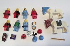 LEGO Knight Horse Castle Kingdoms Minifigure  Weapons Armor 18 Lot