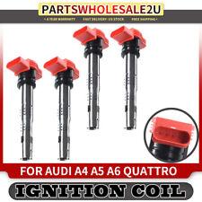 4x Ignition Coils for Audi A4 A5 A6 Quattro Q5 Q7 R8 S4 S6 Touareg Porsche UF529