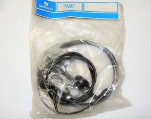 ~ NOS Shimano Positron Stem Mount Shifters Complete with Cables & Housing ~