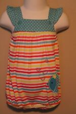 GIRLS 3/6 months FISH romper NWT Fisher-Price 1-piece outfit creeper