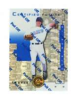 1998 Pinnacle Certified Mirror Blue #101 Travis Lee Bankruptcy Test Issue Rookie