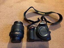 Nikon D D3200 24.2MP Fotocamera Reflex Digitale-Nero (Kit Con AF-S DX VR lente 18-55mm)