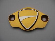 Ducati Inspektionsdeckel mit Logo gold Monster S4, S4R, S4RS