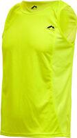 More Mile Mens Running Singlet Sports Vest Tank Top Hi Viz Gym Workout