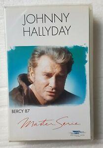 """JOHNNY HALLYDAY ( VHS NEUVE ) ♦ """"BERCY 87"""" - MASTER SERIE  ♦"""