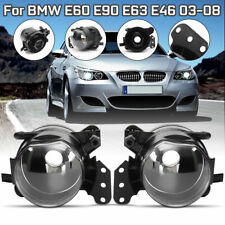 Front Fog Light Lamp Housing For BMW E60 E90 E63 E46  328i 325i 525i Clear Lens