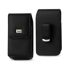 10x Vertical Leather Pouch For Samsung Galaxy S6 W/ Otterbox Lifeproof Case On