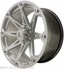 "4 20"" Silver Alloy Wheels 6x139 Greatwall Mitsubishi L200 Ford Nissan 4x4 SUV"