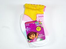 NEW 2 PAIRS GIRLS DORA THE EXPLORER NON SKID SOCKS SIZE 12-18M NS52