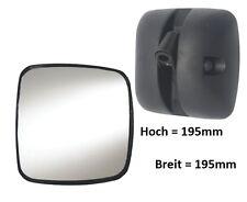 Außenspiegel Ersatzspiegel Scania DAF MAN Volvo Renault 195x195 mm ø18-28mm R300