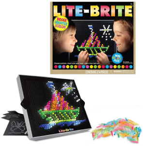 Lite-Brite Ultimate Classic Retro And Vintage Toy Gift For Girls And Boys NEW