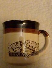 1986 Vintage Hardee's Rise And Shine Homemade Biscuits  Coffee Mug