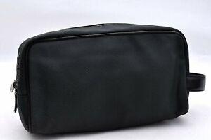 Authentic Louis Vuitton Taiga Palana Clutch Bag Green M30754 LV A2250