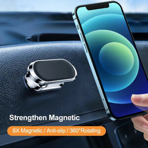 360° Magnetic Car Phone Holder Dashboard Stand Mount For iPhone 12 11 XS Samsung