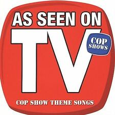 As Seen on TV   Cop Shows by DJ's Choice The Hit Crew CD  Oct-2004