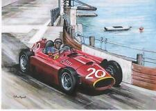 Fangio, Monaco Grand Prix 1956 art print