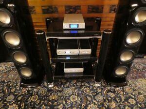 Tandem Audio Statement Rack * 3 shelves * Carpet Couplers * Custom Flight Cases