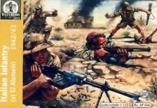 Waterloo Italian Infantry Afrika El Alamein 1942/43 Soldaten Italien 1:72 kit