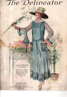 1917 Delineator April Maud Humphrey cover only