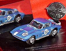 Chevrolet Corvette Stingray Grand Sport #50 NASSAU 1963 BLU 1:43 Eagle