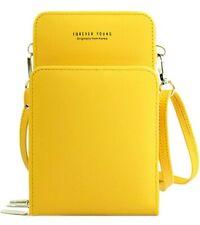New listing Womens Lightweight Crossbody Shoulder Bag Mini Crossbody Cell Phone Purse