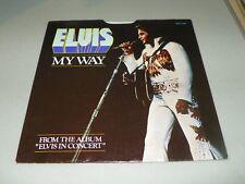 Elvis Presley 45  PB-11165 RCA My Way AMERICA THE BEAUTIFUL-W/PIC COV. M-  M