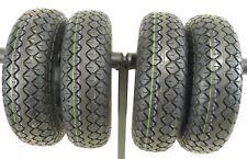 4 Reifen Mantel 4.10/3.50-5 4PR schwarz C-154 für Elektromobil  Invacare Orion