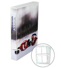 Hockey Card Storage Binder, with 25 Platinum 4 Pocket Pages, Holds 200 Cards
