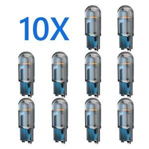 10x2021 Newest W5W Led T10 Car Light COB Glass 6000K Multiple Colour Automobiles