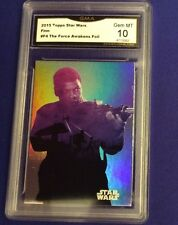2015 Topps Star Wars Finn #F4 The Force Awakens Foil Gem  MT 10