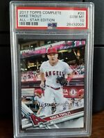 2017 Topps All-Star Edition Mike Trout Angels Baseball Card #20 PSA 10 Gem Mint