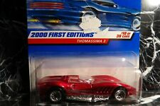 2000 Hot Wheels 2000 First Editions Thomassima 3 Condition of Card Bad