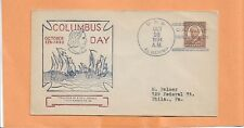 U.S.S. ALGORMA COLUMBUS DAY OCT 12,1934