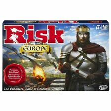 Hasbro Risk Europe Strategy Board Game Conquer Your Opponent - Brand New Sealed