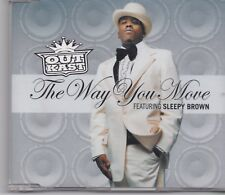 Outkast-The Way You Move Promo cd single