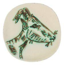 Pablo Picasso Ceramic, Madoura, Tête de chèvre de profil plate, AR 109