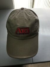 Ashworth Atlantic 10 Conference Football A10 Beige Golf Hat Cap Saint Joseph's