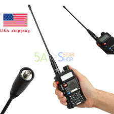 For Antenna Nagoya NA-701 SMA Female Dual Band 144/430MHz Baofeng UV-5R E Plus