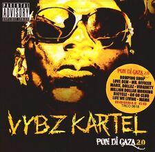 Vybz Kartel - Pon Di Gaza 2.0 [New CD]